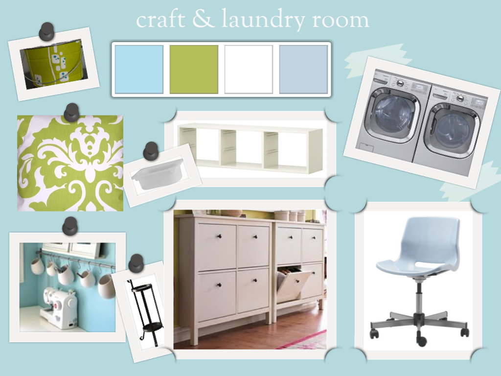 Laundry Craft Room
