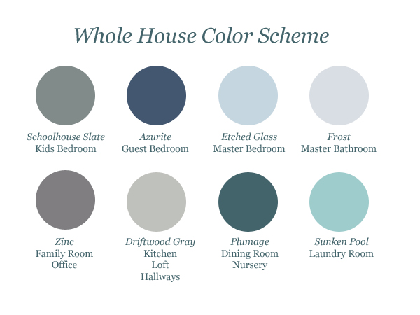Whole House Color Scheme