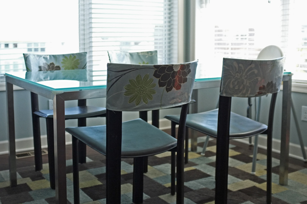 DIY Laminated Chair Covers