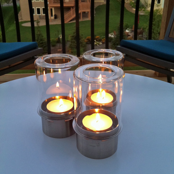 Deck Lounge Candlelight