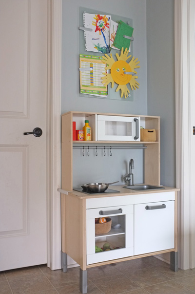 Mud Room Play Kitchen