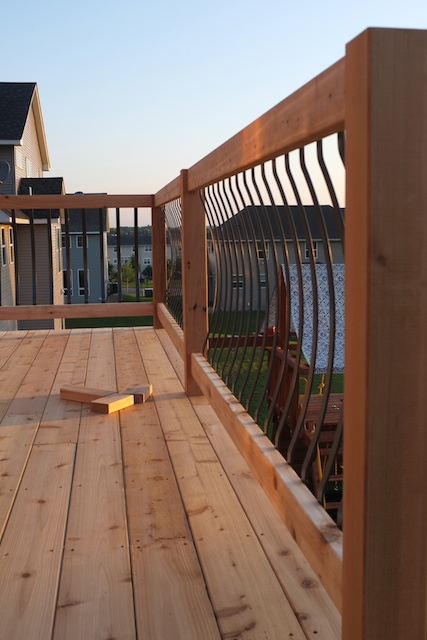 Deck Arc Balusters