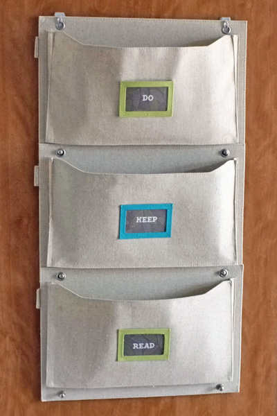 Hanging Canvas Wall Pockets