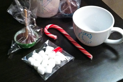 Hot Chocolate on a Stick gift