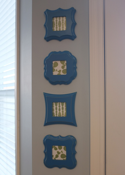 Framed Fabric Scraps