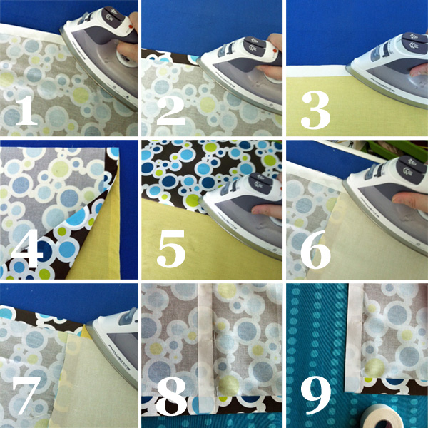 How To Make Curtains From A Shower Curtain
