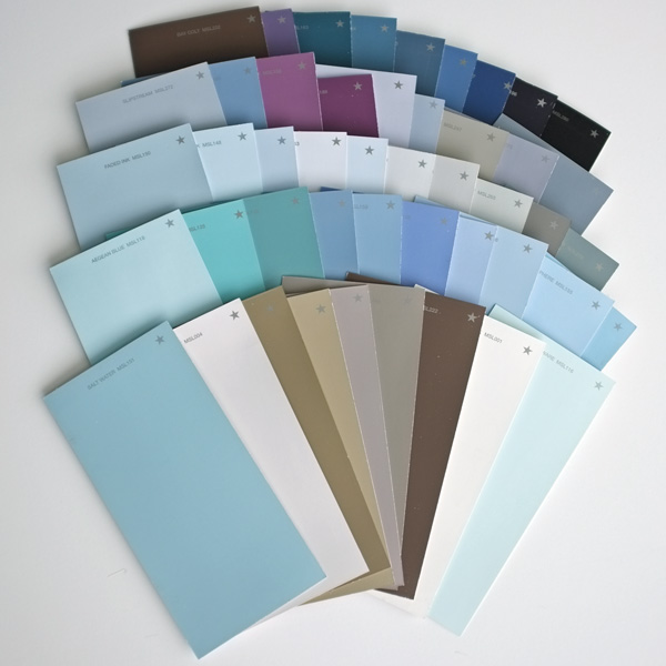 Martha Stewart star color palette