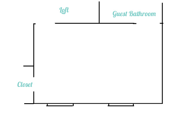 Guest Bedroom Furniture Layout