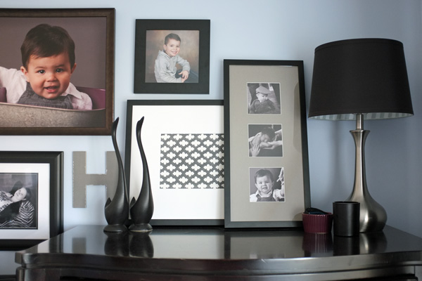layered picture frames