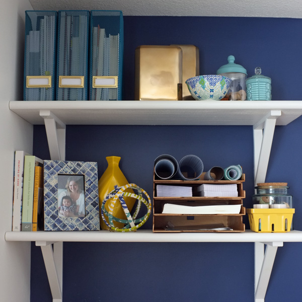 Open Craft Studio Shelves