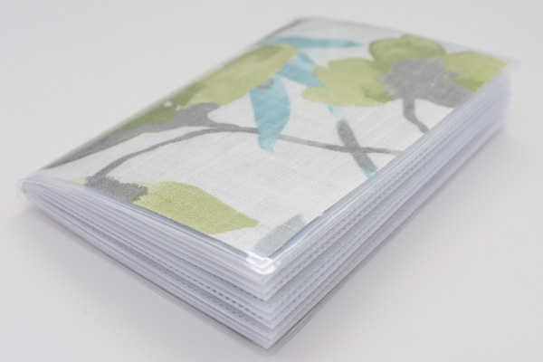 Paint and Fabric Swatch Book