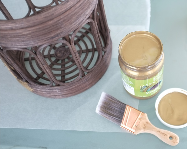 Metallic Antique Brass Paint