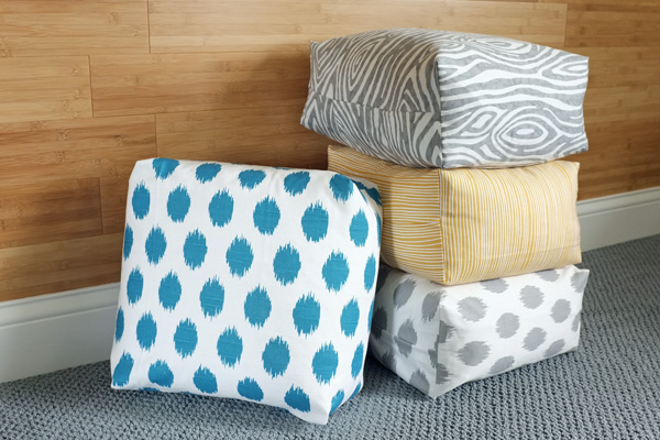 One Extra Step That Can Easily Turn Any Pillow Cover into a Box Cushion   tealandlime.com