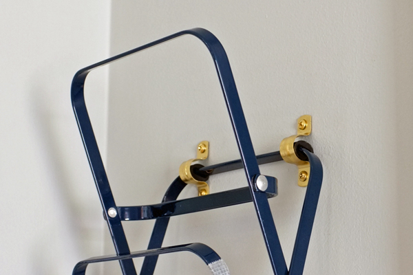 Hanging an Accordion File Holder on the wall