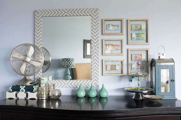 . How to Style a Dresser