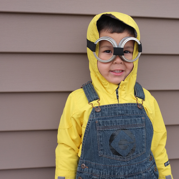 DIY Kids Minion Costume