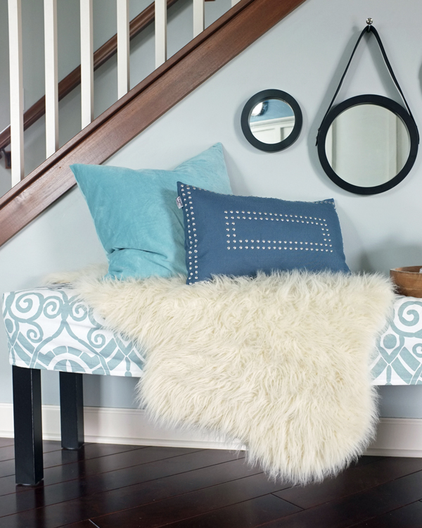 How To Style a Bench