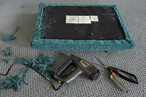 How to Recover an X-Bench with a Rug