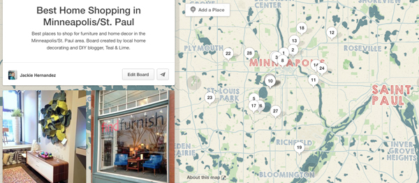 Best Home Shopping in Minneapolis/St Paul pinterest board by Teal & Lime