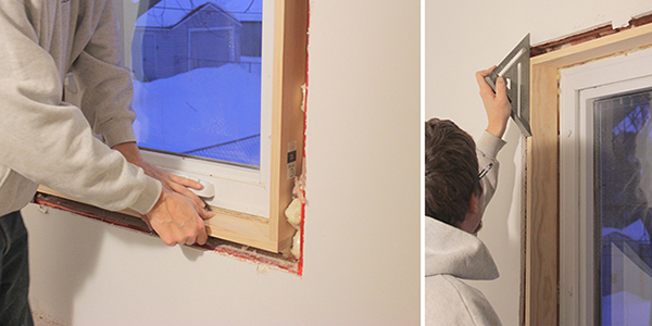 How to install Craftsman Style Window Trim | Home Coming for tealandlime.com