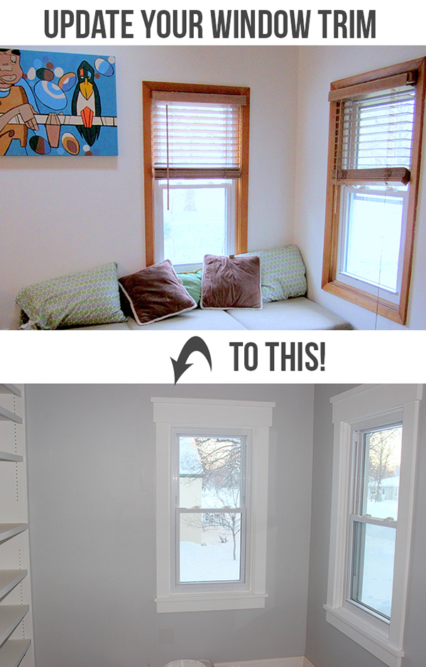 Install Craftsman Style Window Trim | Home Coming for tealandlime.com