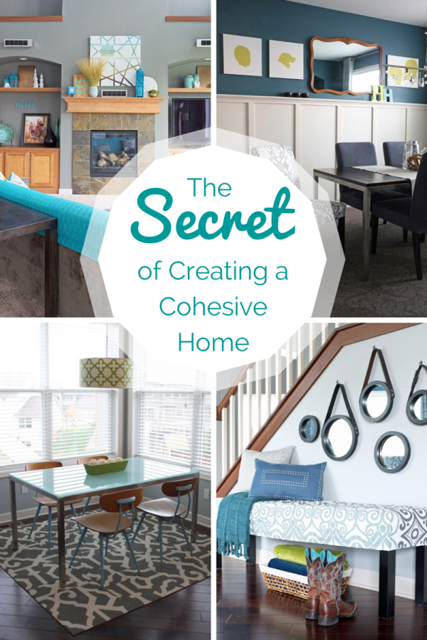 The Secret of Creating a Cohesive Home - tealandlime.com