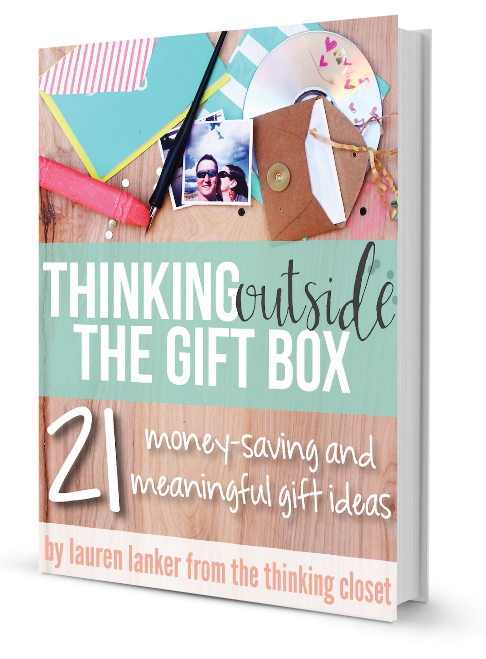 Interview with Thinking Outside the Gift Box author Lauren Lanker | www.tealandlime.com