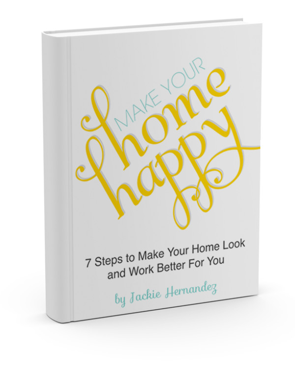 Free Workbook: Make Your Home Happy - 7 Steps to Make Your Home Work and Look Better for You | www.schoolofdecorating.com/home-happy