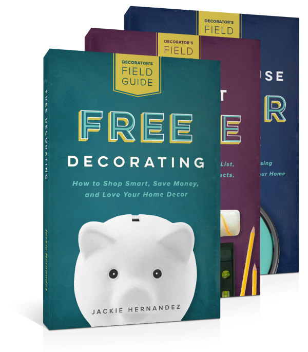 Can't wait for this book series...Decorator's Field Guides by Jackie Hernandez