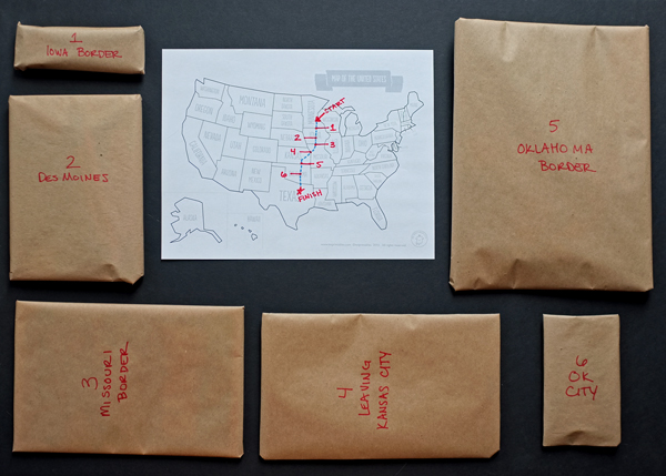 How to make a Road Trip Mystery Survival Kit