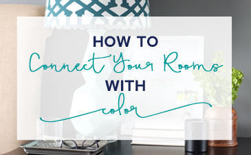 How to Connect Your Rooms with Color