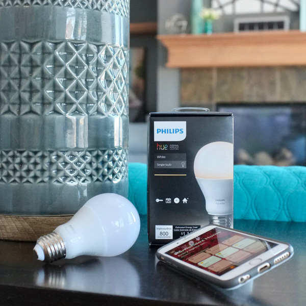 How to control every light bulb in your home from your phone. You can put them on timers, dim them, control all the lights in a room at once, and create lighting routines to support and simplify your life.