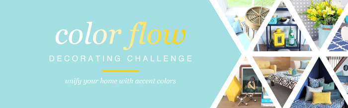 Free Color Flow Decorating Challenge - click through to join in!