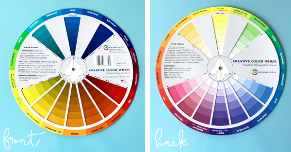 The three best color wheels for decorating and choosing a color scheme for your home. Click to read why these are my favorite.