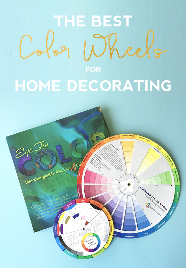 These are the three best color wheels for decorating and figuring out a color scheme for you home. Click through to see why they're my favorites.