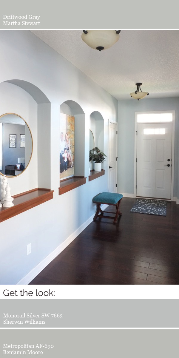 Create a modern whole house color scheme. Choose a default neutral color you can use in hallways and all open, connected rooms.