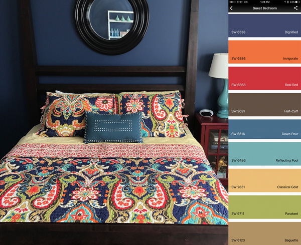 This tool lets you scan ANY surface and shows you matching paint colors from all major brands in a free phone app.