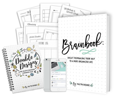 Brainbook: Bullet Journaling Your Way to a More Organized Life - this is a great resource for beginning bullet journalers