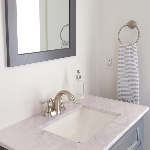 Home staging hack: Use display-only hand towels to get bathrooms ready for home showings