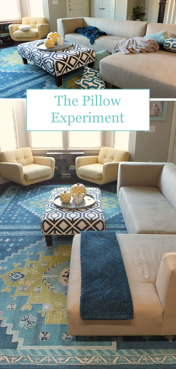 The Pillow Experiment - Can we live without throw pillows?