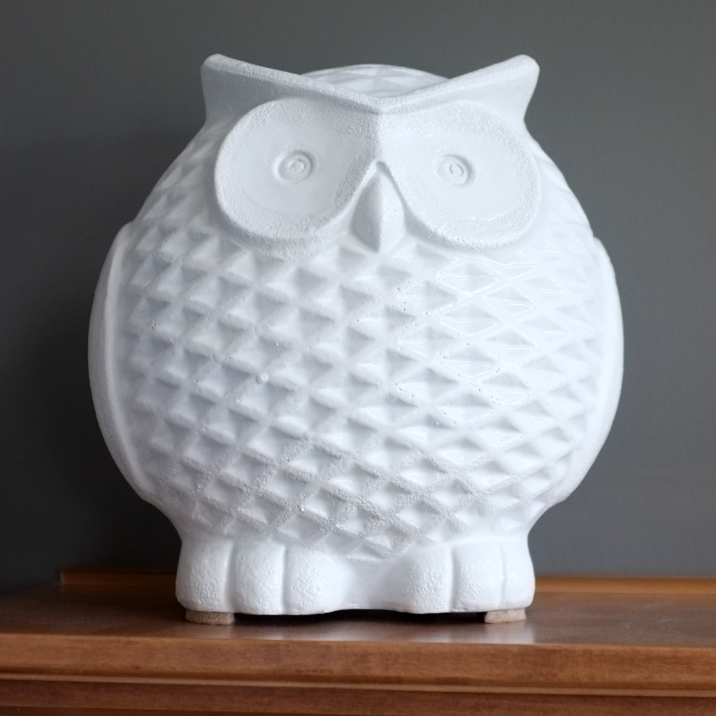 DIY Ceramic Owl