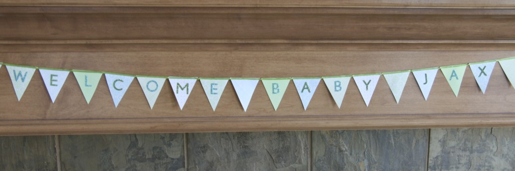 Tiny Bunting Banner