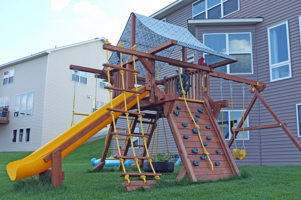 Play set canopy makeover