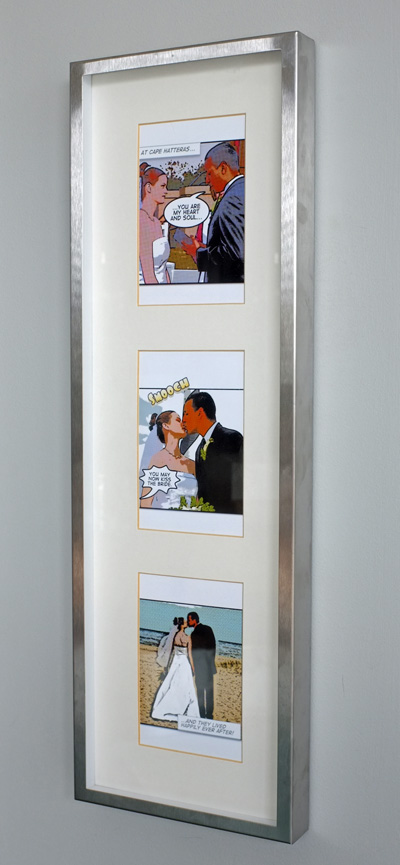 Comic Strip Wedding