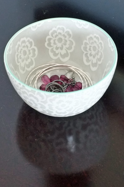 decorative bowl jewelry storage