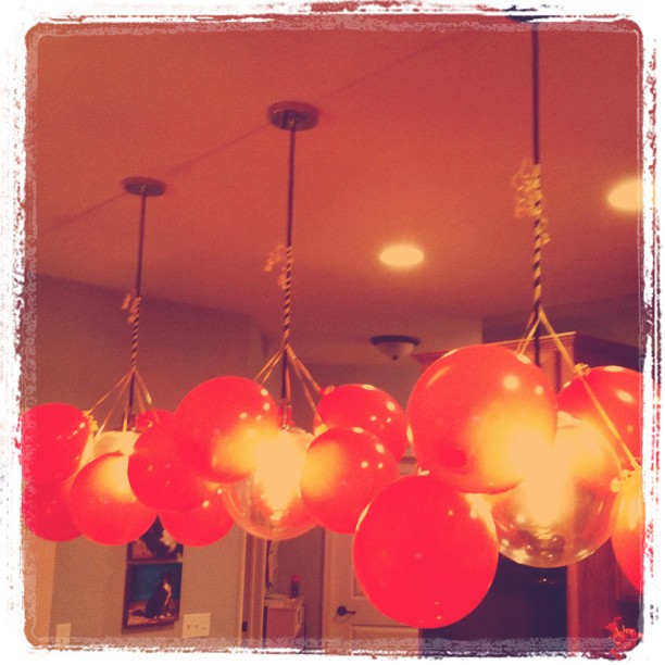 balloon light pendants