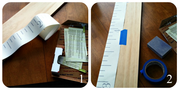 Ruler Growth Chart Tutorial