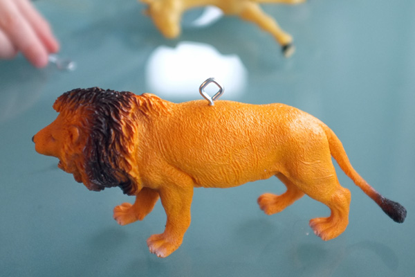 Plastic Animal Ornaments