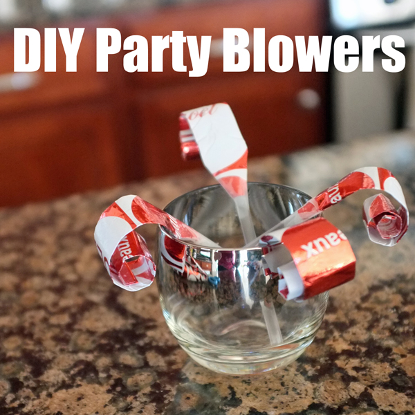 DIY Party Blowers
