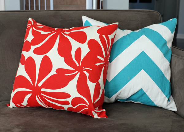 DIY Envelope Pillow Covers